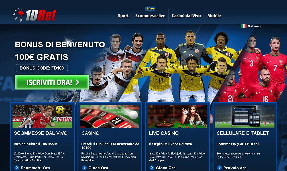 10bet-homepage