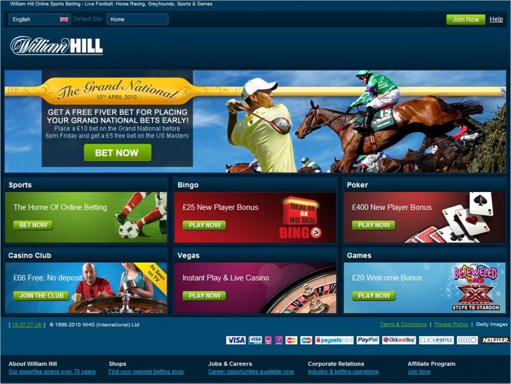 william hill bet